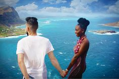 Gorgeous  couple on vacation in Hawaii #love