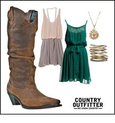 """Dallas TV Show Inspired Look for Elana"" by countryoutfitter on Polyvore"