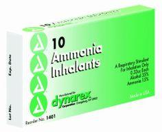 Dynarex Ammonia Inhalants,  33 Cc, 10 Ampules by Dynarex. $3.17. Ammonia Inhalents (Ampule).