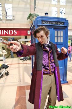 11th Doctor waistcoat by L. S. Day
