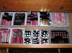 Makeup looks better organized!