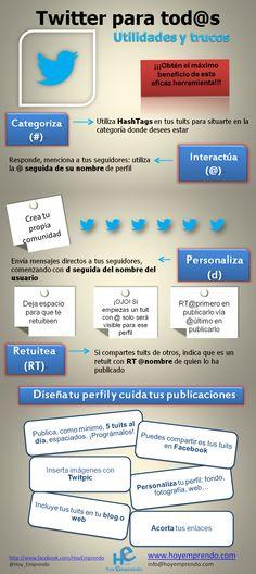 ¿Es nuevo en Twitter? ¡Tenga en cuenta esto!.  #Infografía en español