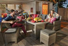 Brisbane dining-/loungeset - Beach7 Tuinmeubelcollectie bij Boer Staphorst