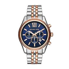 Men  Watches - Michael Kors Mens Lexington TwoTone Watch MK8412 -- You can get more details by clicking on the image. (This is an Amazon affiliate link)