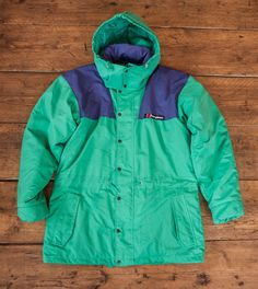 "Mens Vintage Berghaus Snow Storm Down Jacket. Mens Small 38-40"" Chest HW6"