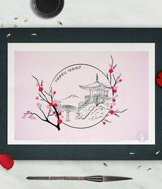AFFICHE IN THE MOOD FOR JAPAN ♣ À PROPOS... Cette illustration, inspirée de lart traditionnelle japonais, ré-interprète de façon ludique et girly, les estampes nippones et leurs fameux cerisiers en fleurs. Si vous avez aimé cette illustration, je vous invite à découvrir dans ma boutique, dautres de mes illustrations. ♣ INFO SUR LARTICLE Dimensions disponibles : A6 (14,8 x 10,5 cm) A4 (21 x 29,7 cm) A3 (29,7 x 42 cm) Impression haute définition sur papier de qualité. Affiche imprimée avec ...