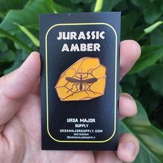 Repost @ursamajorsupply Life Finds a Way Our Jurassic Amber pin variants are available in the shop now! Hard to capture the translucent fill on these beauties with a photo but trust is they look rad. Pick one up at and browse our new collection by visiting ursamajorsupply.com (link in the bio) (Posted by https://bbllowwnn.com/) Tap the photo for purchase info. Follow @bbllowwnn on Instagram for the best pins & patches!