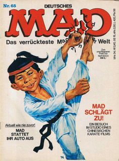 Cover Pages, Cover Art, Karate, Mad Magazine, Magazine Covers, Halo Armor, Magazine Articles, Comic Covers, Childhood