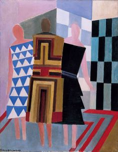 Simultaneous Dresses (The three women), 1925