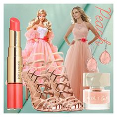 """Peach and Cream 🍑🍧"" by lullulu on Polyvore featuring Morrell Maxie, Estée Lauder, Smith & Cult, Ippolita and Madden Girl"