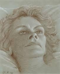 pyke koch | Portret van Mw. Voûte-Reijmers, 1956