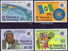 St Vincent 1983 Commonwealth Day Set Fine Mint SG 714 17 Scott 670 3 Other British Commonwealth Stamps here