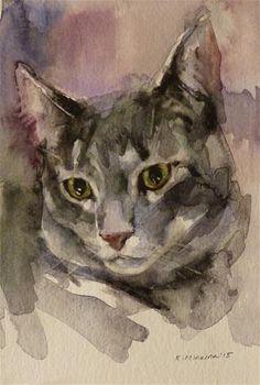 "Daily Paintworks - ""adopt74"" - Original Fine Art for Sale - © Katya Minkina"