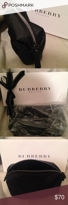 f84618386f3a 🍋BURBERRY VIP GIFT- Cosmetic Bag Authentic Burberry Makeup Bag