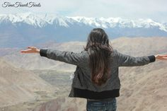 And thats me...soaking in #Himalayas. A #TripToRemember. #Leh #Ladhakh. Hauntingly beautiful. #serene #peaceful #unforgettable #holiday in #India .