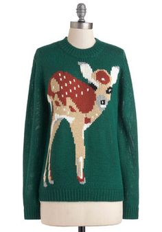 Fawn Trend Sweater, #ModCloth