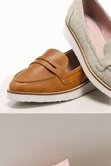 Next Chunky Flatform loafers