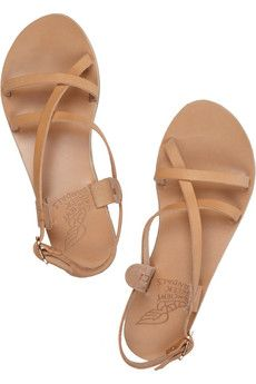 ANCIENT GREEK SANDALS Myrtis leather sandals $185