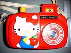 Vintage Hello Kitty talking camera