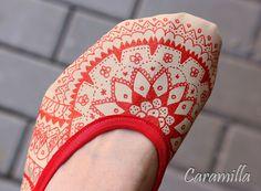 Barefoot baleriny - návod, jak je vyrobit samodomo | Ekozahrada - Blog Petry Macháčkové / Caramilla