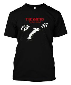 bd53d2be The Smiths The Queen Is Dead 1980 Indie Morrissey Band Black T-Shirt New -  T-Shirts, Tank Tops