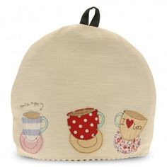 Teacups - tea cosy by Poppy Treffry
