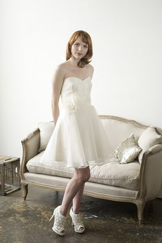 Elizabeth Dye 2011 Bridal Collection.
