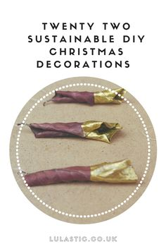 Alternative and sustainable Christmas Decorations