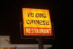 Stupid Restaurant Signs from Around the World | Weird Palace