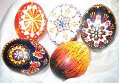 Serbian Easter Eggs.