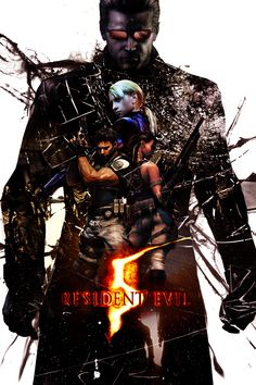 Resident Evil 5 Poster by KanomBRAVO.deviantart.com on @DeviantArt