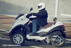 Essai Piaggio MP3 500 LT Touring Business