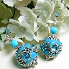 Kashmiri Bollywood Indonesia Beads | 2 | `t Kralenstulpje | Sieraden maken | Verkoop kralen | organza kadozakjes | prijslabels
