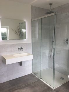 """It's been a good few weeks since we moved into our new house and slowly but surely we are getting the rooms to look more homely and """"lived"""" in. The builders have officially left (the portaloo was removed from site… Bathroom Goals, Bathroom Inspo, Bathroom Inspiration, Bathroom Ideas, Bathroom Designs, Downstairs Cloakroom, Kitchen Diner Extension, Open Plan Kitchen Living Room, Bad Inspiration"""