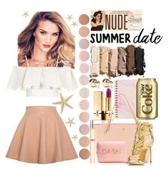 """summer date"" by anoo17k ❤ liked on Polyvore featuring Urban Decay, Relaxfeel, Yves Saint Laurent, Topshop, Deborah Lippmann, Tory Burch, Giuseppe Zanotti, Kenneth Jay Lane and Chloé"