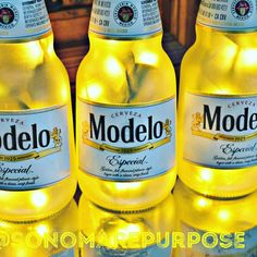 Check out this Modelo Beer Bottle Light just added to our #etsy shop: Modelo Especial Beer Bottle Light 3 Pack Frosted Glass Yellow lights Bar Light, Modelo Beer, Modelo Light #Modelo #modelobeer #beer #beerbottlelight #barlight #recycled #upcycled Modelo Light, Beer Bottle Lights, Modelo Beer, Sonoma County California, Small Plastic Bags, Black Vase, Light Beer, Beer Label, Bar Lighting