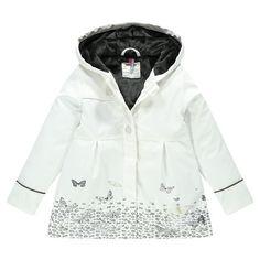 Parka imperméable à capuche en gomme doublée sherpa  Main