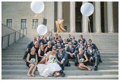 bridal party pose, groomsmen pose, bridesmaids pose, couple pose, bride groom pose, engagement pose, couple poses, style me pretty, kansas city wedding photography, destination wedding
