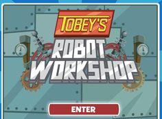tobey's robot workshop game