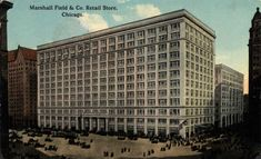 marshall fields building - Google Search