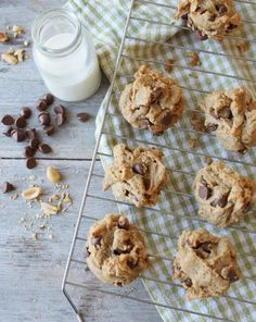 These delicious nut butter cookies are grain-free, dairy-free and naturally sweetened.