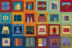 ERIN WILSON QUILT......VERY INTERESTING CONCEPT.....INDUSTRIAL APPEARANCE.......PC