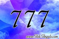 Learn the meaning of seeing the angel number 777. 777 is a positive sign however you look at it and often a sign of more magic and opportunity to come!