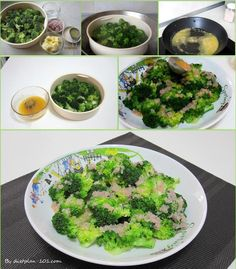 Steamed Broccoli with Lemon Butter Sauce (Atkins Diet Phase 1 Recipe) | Diet Plan 101