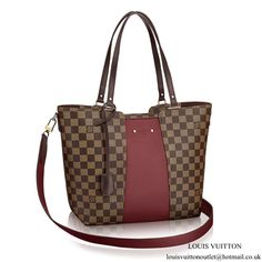 4018066e8 Jersey Damier Ebene Canvas in Women's Handbags collections by Louis Vuitton