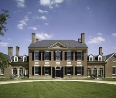 Woodlawn, circa 1805. Alexandira, VA. This home was a gift from George Washington to his nephew Major Lawrence Lewis.