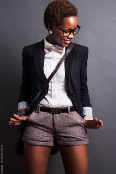 Relaxed Luxury Specs and the Big Chop [more at pinterest.com/eventsbygab]