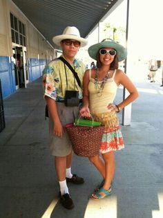 My Kids Dress Like Tourist For Homecoming Week