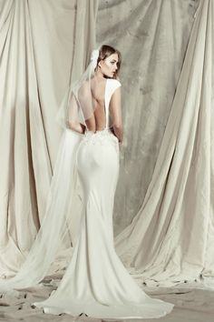 oooh la la ~ love this modern, romantic and sexy wedding dress collection!