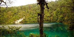 Kristallklarer See von Chiapas, Mexiko © Isabella Falter #Mittelamerika Panama, River, Outdoor, Central America, Caribbean, Mexico, Adventure, Outdoors, Panama Hat